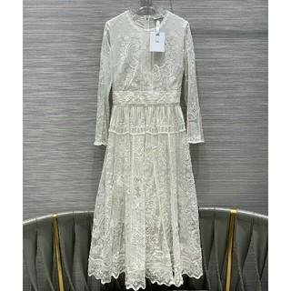 クリスチャンディオール(Christian Dior)のDiorデイオールワンピース ドレス パーティー 正規品(ロングワンピース/マキシワンピース)