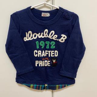 ダブルビー(DOUBLE.B)のダブルビー 長袖Tシャツ(Tシャツ/カットソー)