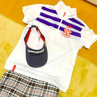ルコックスポルティフ(le coq sportif)のルコックゴルフ♡ポロシャツ Lサイズ(ウエア)