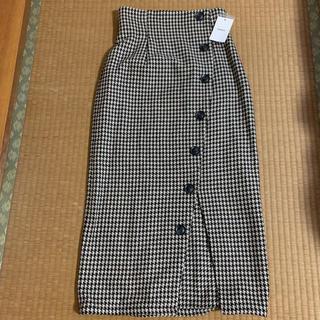 MURUA - チェックロングスカート(未使用品)