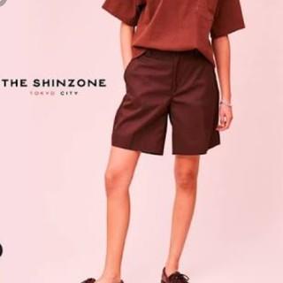Shinzone - shinzone スケーターパンツ ショート 36