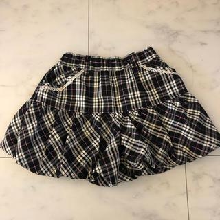 バルーンショートパンツ 140cm(スカート)