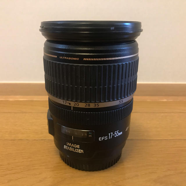Canon(キヤノン)の[値下げ] Canon EF-S 17-55mm スマホ/家電/カメラのカメラ(レンズ(ズーム))の商品写真