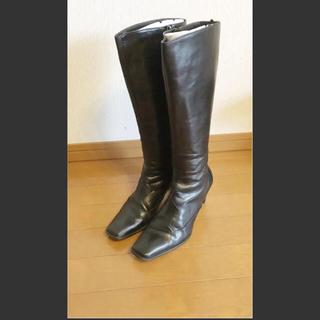 リーガル(REGAL)のロングブーツ 黒 ブラック(ブーツ)