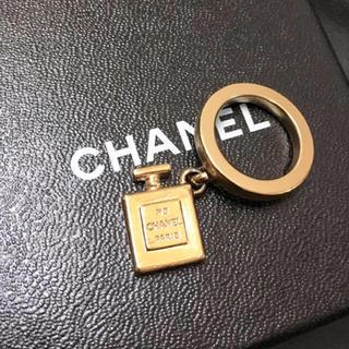 シャネル(CHANEL)のSALE!CHANEL 正規着画No.5香水瓶チャームリング(リング(指輪))