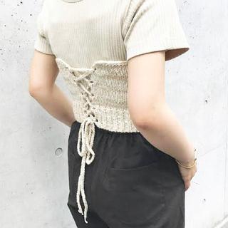 Kastane - 【最終値下げ】【美品】Kastane~ニットビスチェ~