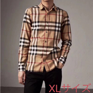 BURBERRY - バーバリー チェックシャツ XLサイズ 新品