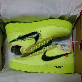 OFF-WHITE - 26.5 Air Force 1 Off White オフホワイト Travi