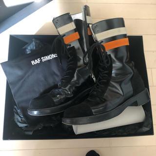 RAF SIMONS - レア RAF SIMONS 16aw narrow boots