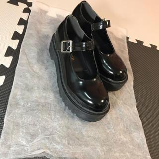 ウィゴー(WEGO)のWEGO 厚底(ローファー/革靴)