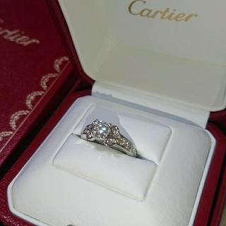 カルティエ(Cartier)のwanyanmaru_z様専用 バレリーナ  パヴェ ダイヤリング 0.59CT(リング(指輪))