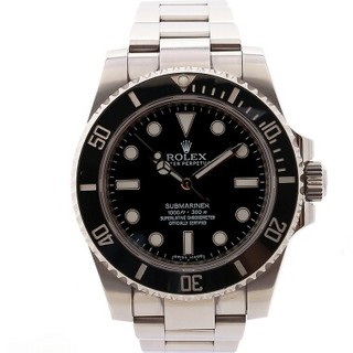 ROLEX - ロレックスRolex黒水鬼男時計自動機械贅沢品腕時計