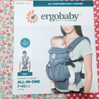 Ergobaby - 新品  エルゴベビー オムニ 360 クールエア  オクスフォードブルー