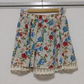 レトロガール(RETRO GIRL)のリバーシブル 花柄 ミニスカート(ミニスカート)
