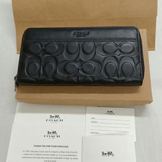 COACH - COACH長財布 コーチ正規品財布 F74999 ブラック 男性用財布
