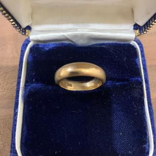 [K20]イエローゴールドリング 12号(リング(指輪))