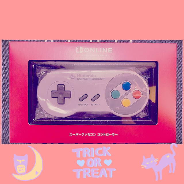 Nintendo Switch(ニンテンドースイッチ)の新品 Nintendo switch スーパーファミコン コントローラー エンタメ/ホビーのゲームソフト/ゲーム機本体(その他)の商品写真