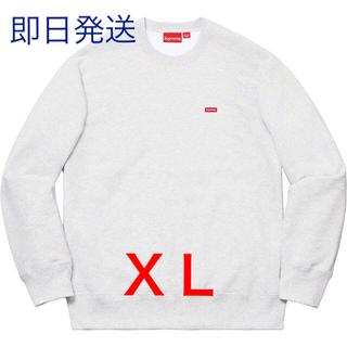 Supreme - 【XL】Supreme Small Box Crewneck AshGrey