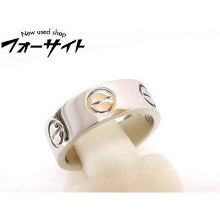 カルティエ(Cartier)のカルティエ■Pt950 プラチナ ラブリング ピンキーリング 指輪(リング(指輪))