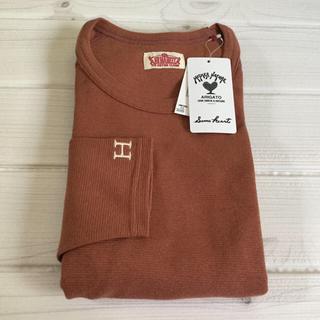 ハリウッドランチマーケット(HOLLYWOOD RANCH MARKET)の先行販売  新色ココア❗️ハリウッドランチマーケット ストレッチフライス M (Tシャツ(長袖/七分))