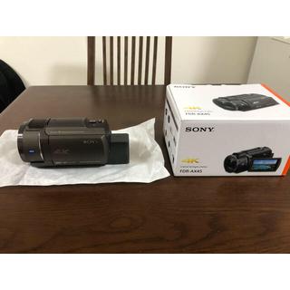 SONY - SONY ビデオカメラ FDR-AX45 ブロンズブラウン