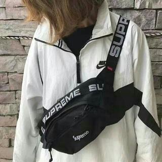 Supreme - Supreme 18ss Waist Bag ブラック