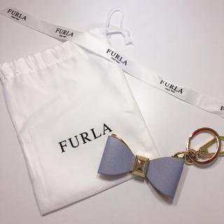 Furla - FURLA キーホルダー ブルー