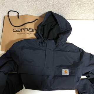 carhartt - Carhartt wip プルオーバー カーハート ハーフジップ パーカー