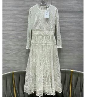 クリスチャンディオール(Christian Dior)のディオール マキシワンピース 結婚式 オシャレ ファッション(ロングワンピース/マキシワンピース)