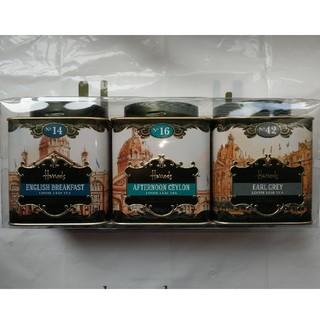 Harrods - ハロッズ紅茶3缶セット