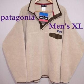 patagonia - 新品 メンズXL パタゴニア シンチラ フリース スナップT ベージュ