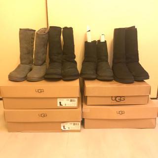 アグ(UGG)のUGG◎4足まとめ売り◎ショートブーツ◎ミドルブーツ◎22cm〜23cm(ブーツ)