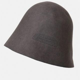 ネストローブ(nest Robe)のmature ha. バックステッチウールフリーハット mfel-1101bst(ハンチング/ベレー帽)