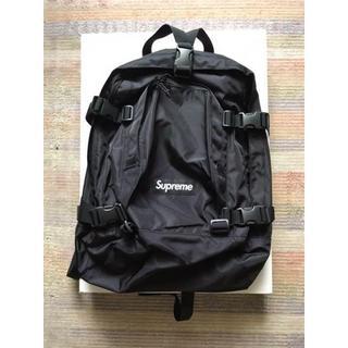 Supreme - 送料込み supreme backpack cordura black 黒