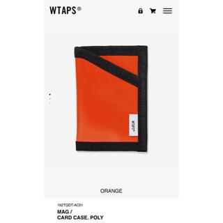 ダブルタップス(W)taps)のwtaps 19aw card case orange(名刺入れ/定期入れ)