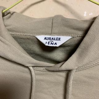 IENA - AURALEE × IENA スウェット パーカー