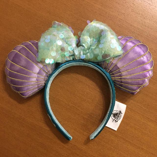 Disney(ディズニー)の【新品】香港ディズニー アリエル カチューシャ タグなし エンタメ/ホビーのおもちゃ/ぬいぐるみ(キャラクターグッズ)の商品写真