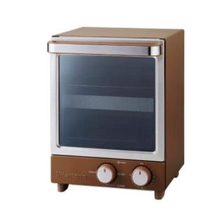 ビタントニオ 縦型オーブントースター ブラウン VOT-20