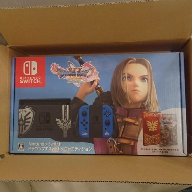 Nintendo Switch(ニンテンドースイッチ)のNintendo Switch ドラゴンクエストXI S ロトエディション エンタメ/ホビーのゲームソフト/ゲーム機本体(家庭用ゲーム機本体)の商品写真