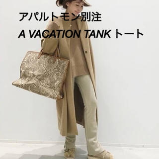 L'Appartement DEUXIEME CLASSE - 新品未使用 アパルトモン別注 A VACATION TANK トートバッグ