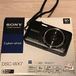 SONY - Sony デジカメ サイバーショット DSC-WX7