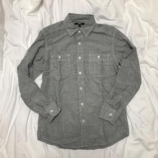 ユニクロ(UNIQLO)の処分価格★デニムシャツ タンガリーシャツ★ユニクロ(シャツ)