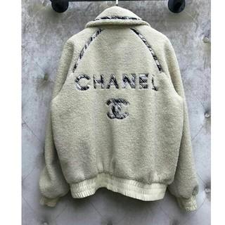 シャネル(CHANEL)のシャネルChanel 美品 コート ジャケット もこもこ レディース M(毛皮/ファーコート)