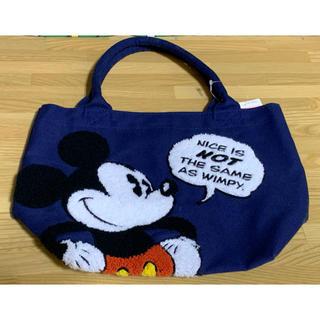 しまむら - しまむら ディズニー サガラ刺繍 ミッキートートバッグ