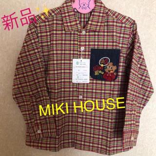 ミキハウス(mikihouse)のMIKI HOUSE長袖シャツ(秋冬用)(ブラウス)