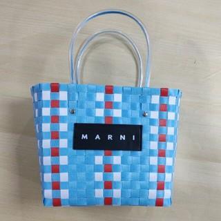 Marni - MARNI マルニ ピクニック かごバッグ  ブルー