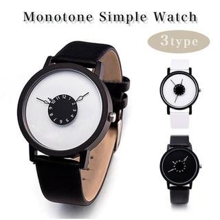 レディースモノトーン腕時計(腕時計)
