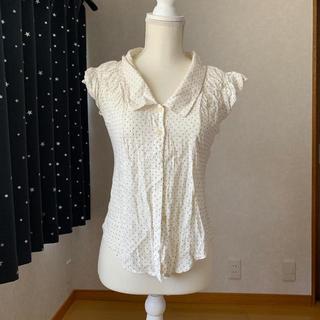 トランテアンソンドゥモード(31 Sons de mode)の水玉シャツ(Tシャツ(半袖/袖なし))