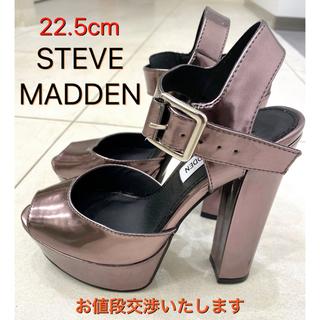 スティーブマデン(Steve Madden)の最終値下げ☆【22.5cm】STEVE MADDEN 厚底ハイヒールサンダル(サンダル)