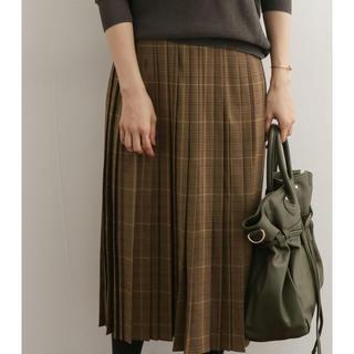 URBAN RESEARCH - チェックプリーツスカート